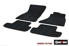 DISCOVERY 3 / 4 RUBBER FLOOR MAT SET - FRONT AND REAR